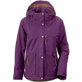 Didriksons Escape Women's Jacket damjacka, Escape Women's Jacket damjacka, Black Currant 379