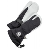 Hestra Heli Ski Female 3-finger skidhandskar, Heli Ski Female 3-finger skidhandskar, Black/Off White