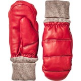Hestra Leather Voss Mitt damvantar, Leather Voss Mitt damvantar, Red