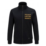 Peak Performance Sweat Zip Jacket Men herrtröja, Sweat Zip Jacket Men herrtröja, 050 Black