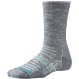 Smartwool PhD Outdoor Light Crew WMS vandringsstrumpor, PhD Outdoor Light Crew WMS vandringsstrumpor, Light Grey 039