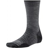 Smartwool PhD Outdoor Lite Crew vandringsstrumpor, PhD Outdoor Lite Crew vandringsstrumpor, Medium Gray 052