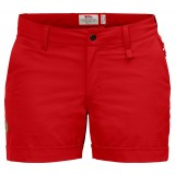 Fjällräven Abisko Stretch Shorts W damshorts, Abisko Stretch Shorts W damshorts, Red