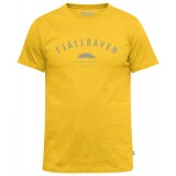 Fjällräven Trekking Equipment T-shirt, Trekking Equipment T-shirt, Warm Yellow