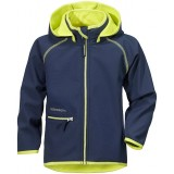 Didriksons FRENEKA KID'S SOFTSHELL JACKET softshell, FRENEKA KID'S SOFTSHELL JACKET softshell, Navy 039