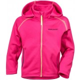 Didriksons BAWAL KID'S JACKET fleece, BAWAL KID'S JACKET fleece, 070/FUCHSIA