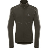 Haglöfs Heron Jacket Men herrfleece, Heron Jacket Men herrfleece, Magnetite