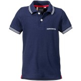 Didriksons RÄKAN KID'S POLO SHIRT piké, RÄKAN KID'S POLO SHIRT piké, Navy 039