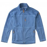 Fjällräven Kids Abisko Trail Fleece barnfleece, Kids Abisko Trail Fleece barnfleece, Blue Ridge