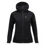 Peak Performance Aneto Hood Jacket WMS softshell, Aneto Hood Jacket WMS softshell, Black 050
