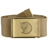 Fjällräven Canvas Brass Belt 4 cm , Canvas Brass Belt 4 cm , Sand