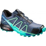 Salomon SPEEDCROSS 4 WMS Damsko, SPEEDCROSS 4 WMS Damsko, Slateblue/Spa Blue/Fresh Green