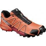 Salomon SPEEDCROSS 4 Herrsko, SPEEDCROSS 4 Herrsko, Flame/BLACK/Red Dalhia