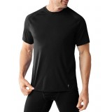 Smartwool Men's Merino 150 Baselayer Short Sleeve T-shirt, Men's Merino 150 Baselayer Short Sleeve T-shirt, Black 001