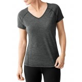 Smartwool Women's PhD Ultra Light Short Sleeve damundertröja, Women's PhD Ultra Light Short Sleeve damundertröja, Charcoal