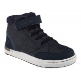 Viking Mark Mid barnskor, Mark Mid barnskor, Navy/White