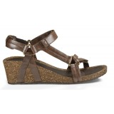 Teva YSIDRO UNIVERSAL WEDGE METALLIC damsandal, YSIDRO UNIVERSAL WEDGE METALLIC damsandal, BROWN METALLIC