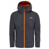 The North Face SEQUENCE JACKET MEN Regnjacka, SEQUENCE JACKET MEN Regnjacka, ASPHALT GREY/EXUBERANCE ORANGE
