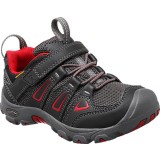 Keen OAKRIDGE LOW WP W/Velcro® barnsko, OAKRIDGE LOW WP W/Velcro® barnsko, BLACK/TANGO RED