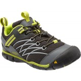 Keen Chandler CNX Youth barnsko, Chandler CNX Youth barnsko, RAVEN/BRIGHT CHARTREUSE