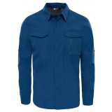 The North Face SEQUOIA SHIRT L/S Men Herrskjorta, SEQUOIA SHIRT L/S Men Herrskjorta, Shady Blue