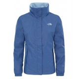 The North Face RESOLVE 2 JACKET WMS Regnjacka, RESOLVE 2 JACKET WMS Regnjacka, COASTAL FJORD BLUE