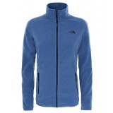 The North Face 100 GLACIER FULL ZIP WMS  Damfleece, 100 GLACIER FULL ZIP WMS  Damfleece, COASTAL FJORD BLUE