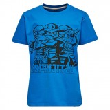 LEGO Wear Boy's T-shirt S/S Master Spinjitzu, Boy's T-shirt S/S Master Spinjitzu, Blue