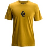 Black Diamond SS Placement Tee Men herr T-shirt, SS Placement Tee Men herr T-shirt, Curry