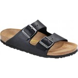Birkenstock Arizona Oiled Leather (normal) sandal, Arizona Oiled Leather (normal) sandal, Black