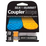Sea to Summit Mat Coupler Kit Loops remmar till luftmadrasser, Mat Coupler Kit Loops remmar till luftmadrasser, Grå