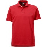 Didriksons WILLIAM MEN'S SHORT SLEEVE POLO herrpiké, WILLIAM MEN'S SHORT SLEEVE POLO herrpiké, 040/RED