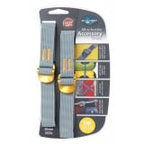 Sea to Summit Accessory Straps 20mm Webbing - 1.0m packremmar 2 stk., Accessory Straps 20mm Webbing - 1.0m packremmar 2 stk., Yellow