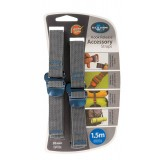 Sea to Summit Accessory Strap w/Hook 20mm 1,5m pakremmar 2 stk., Accessory Strap w/Hook 20mm 1,5m pakremmar 2 stk., Blue
