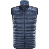 Haglöfs Essens III Down Vest Men dunväst, Essens III Down Vest Men dunväst, TARN BLUE/BLUE INK