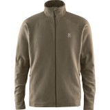 Haglöfs Astro II Jacket Men herrfleece, Astro II Jacket Men herrfleece, Driftwood