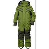 Didriksons Bark Kid's Coverall overall, Bark Kid's Coverall overall, 191/TURTLE GREEN