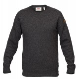 Fjällräven Övik Re-Wool Sweater herrsweater, Övik Re-Wool Sweater herrsweater, Dark Grey