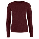 Fjällräven Övik Re-Wool Sweater WMS damsweater, Övik Re-Wool Sweater WMS damsweater, Dark Garnet