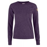 Fjällräven Övik Re-Wool Sweater WMS damsweater, Övik Re-Wool Sweater WMS damsweater, Alpine Purple