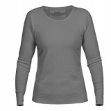 Fjällräven Övik Long Sleeve Top WMS damtröja, Övik Long Sleeve Top WMS damtröja, Grey