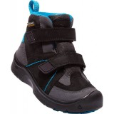 Keen Kids Hikeport Mid Strap WP str. 32-39, Kids Hikeport Mid Strap WP str. 32-39, BLACK/BLUE JEWEL
