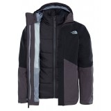 The North Face BOUNDARY TRICLIMAT Boys jacka till killar, BOUNDARY TRICLIMAT Boys jacka till killar, Tnf Black