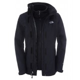The North Face EVOLUTION II TRICLIMATE JACKET WMS damjacka, EVOLUTION II TRICLIMATE JACKET WMS damjacka, TNF BLK/TNF BLK