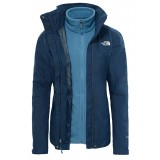 The North Face EVOLUTION II TRICLIMATE JACKET WMS damjacka, EVOLUTION II TRICLIMATE JACKET WMS damjacka, Ink Blue