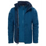 The North Face EVOLUTION II TRICLIMATE JACKET MEN herrjacka, EVOLUTION II TRICLIMATE JACKET MEN herrjacka, Monterey Blue