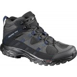Salomon MEADOW MID GTX herrkängor, MEADOW MID GTX herrkängor, PHANTOM/Black/Navy Blazer