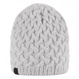 Peak Performance EMBO KNIT HAT dam mössa, EMBO KNIT HAT dam mössa, Dk Offwhite