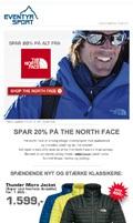 Eventyrsport Nyhedsbrev: The North Face